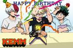 HAPPY BIRTHDAY KACCHAN by KEMM01