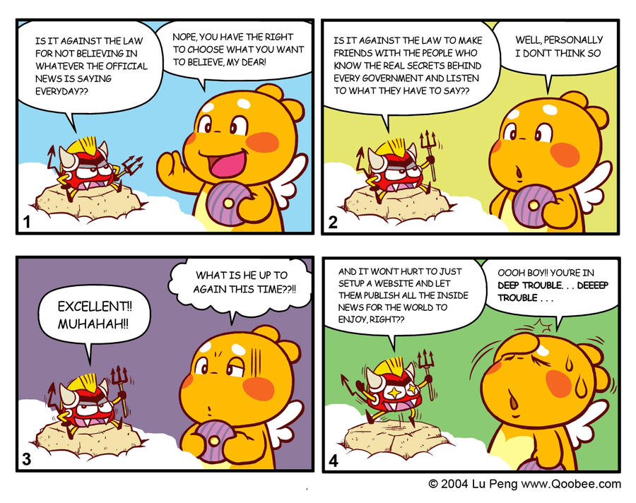 Qoobee comic the Wiki thing by goloops on DeviantArt