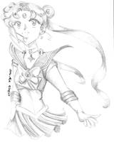 Pencil Manga Sailor Moon by Wildnature03