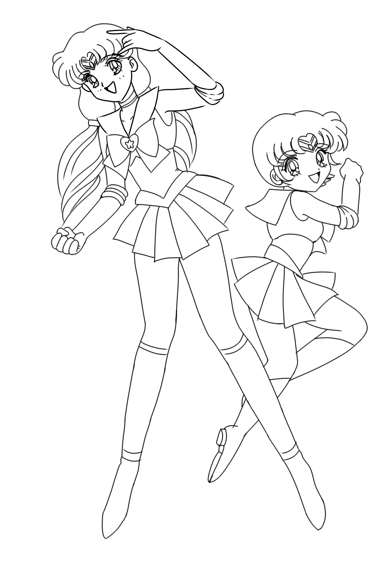 Bssmz gemini and cancer inked by wildnature03 on deviantart for Gemini coloring pages