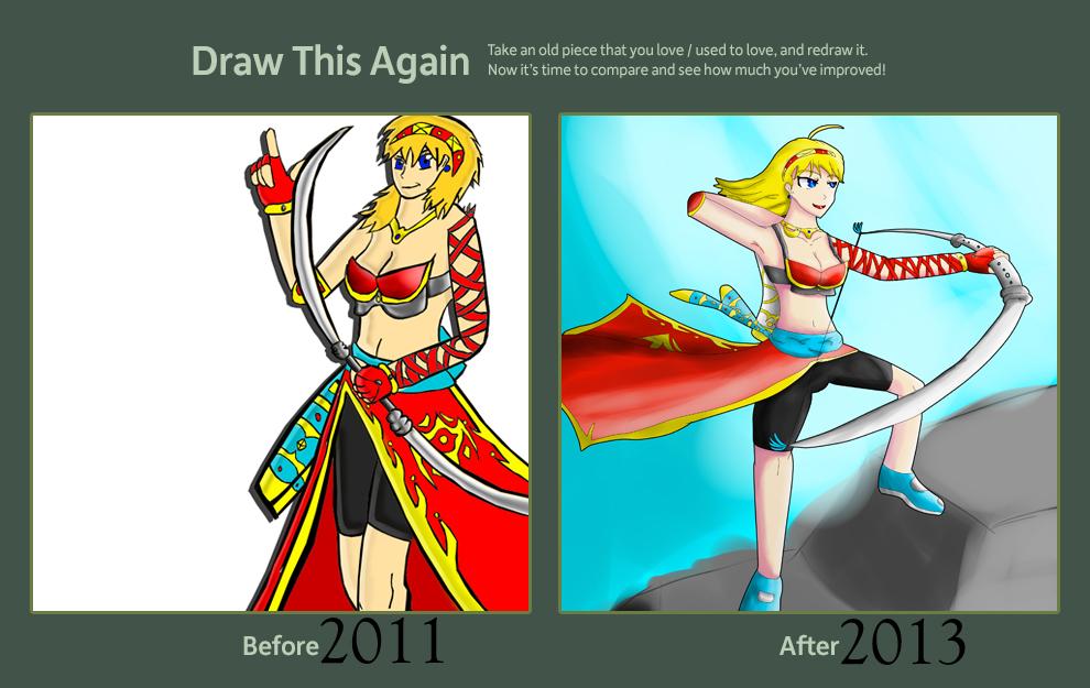 Draw This Again: Anastasya by RunnerGuitar