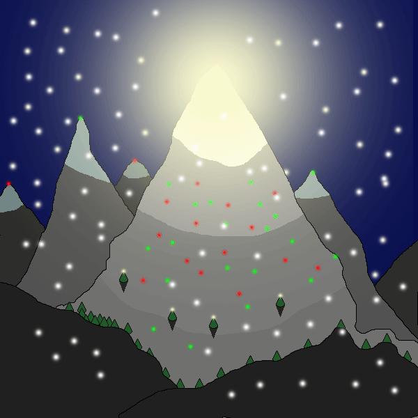 Mt. Christmas by DullBones