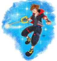 KH3 Sora by createandshow0407