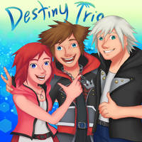 The Destiny Trio by createandshow0407