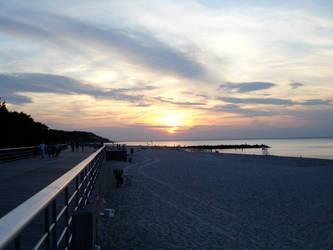 Sunken Sunset at the Boardwalk by FennecusKitsune
