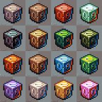 Pixel materials