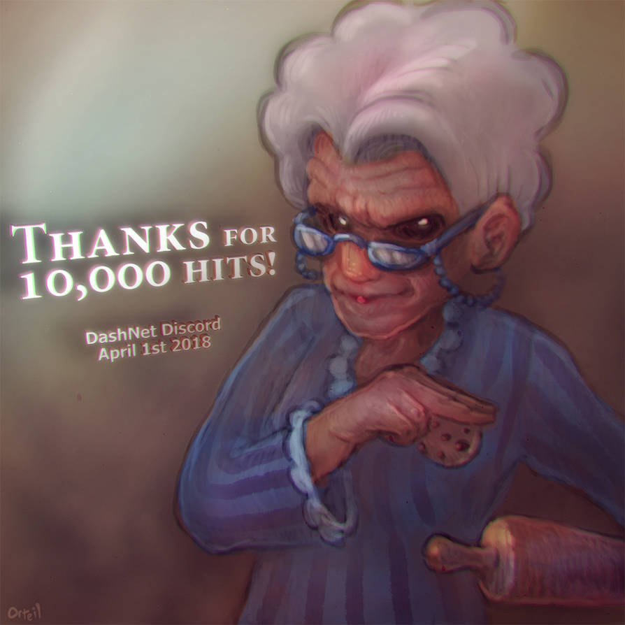 Thanks for 10,000 hits on Discord! by Orteil