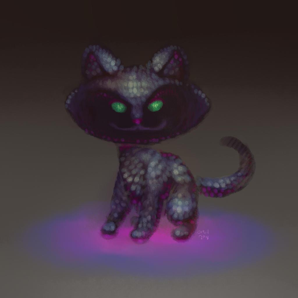 Cookie Clicker kitten by Orteil