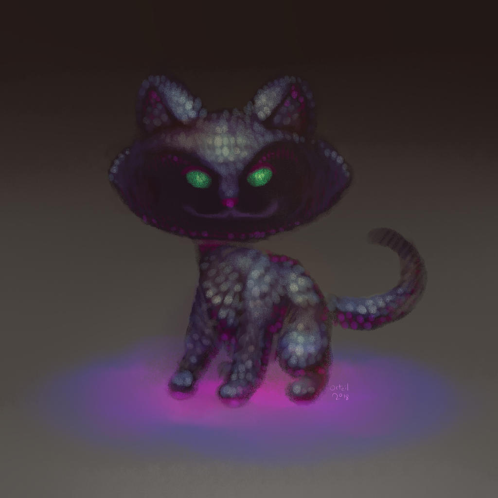 Cookie Clicker kitten by Orteil
