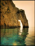 Blue Caves Arch