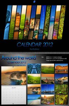 Around The World Calendar 2012