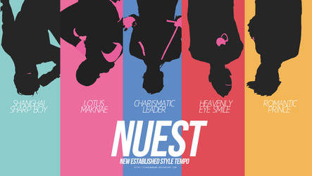 NUEST wallpaper rainbow