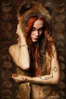 The Redhead Wolf by FreezyDavySmokey