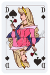 Aurora Playing Card - Color