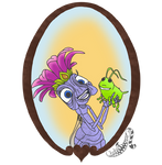Disney Pets - 32 Ant Queen by CheshireScalliArt