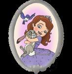 Disney Pets - 52 Sofia by CheshireScalliArt