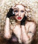Painting Christina Aguilera