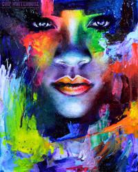 Rihanna Colors Painting