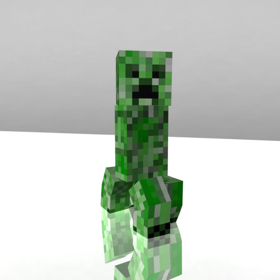 J!NX : Minecraft Creeper Premium Zip-up Hoodie - Clothing