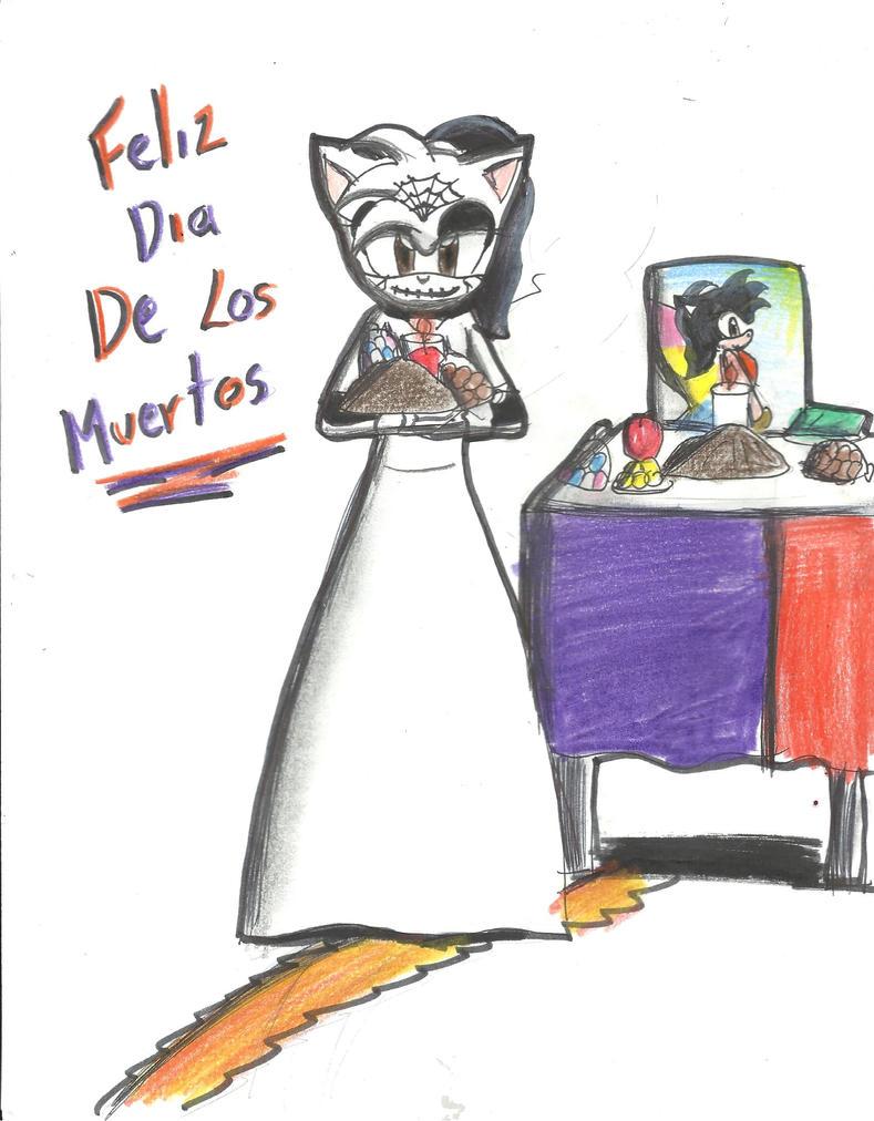 Feliz Dia De Muertos :D Silverjaqui by silverjaqui