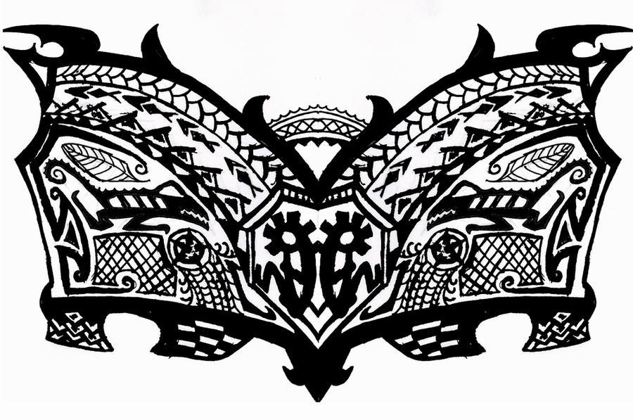 tribal tattoos for men on chest. chest tattoos for men. Tribal