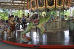 frog carousel stock