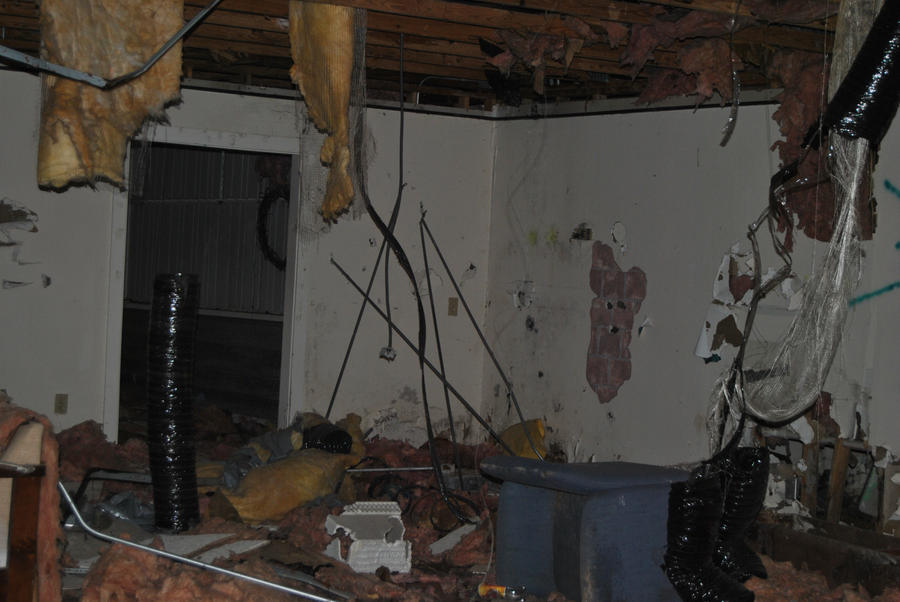 Abandoned Barn Interior Stock By KEArnold