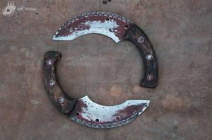 Saw Blade Knifes by Tharrk