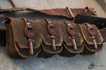 Set Of Four Belt Bags
