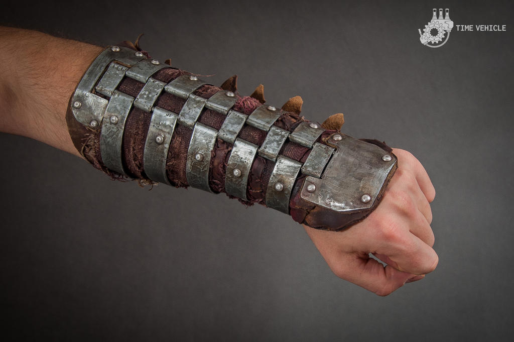 Postapocalyptic Steel Bracer