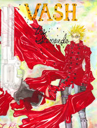 VASH the Stampede by ConnieConnConn