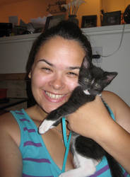 kitty and me