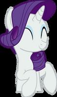 My little pony - Rarity cute vector