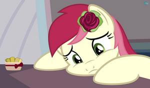 Roseluck sad wallpaper vector