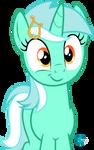 Lyra Heartstrings smirk vector