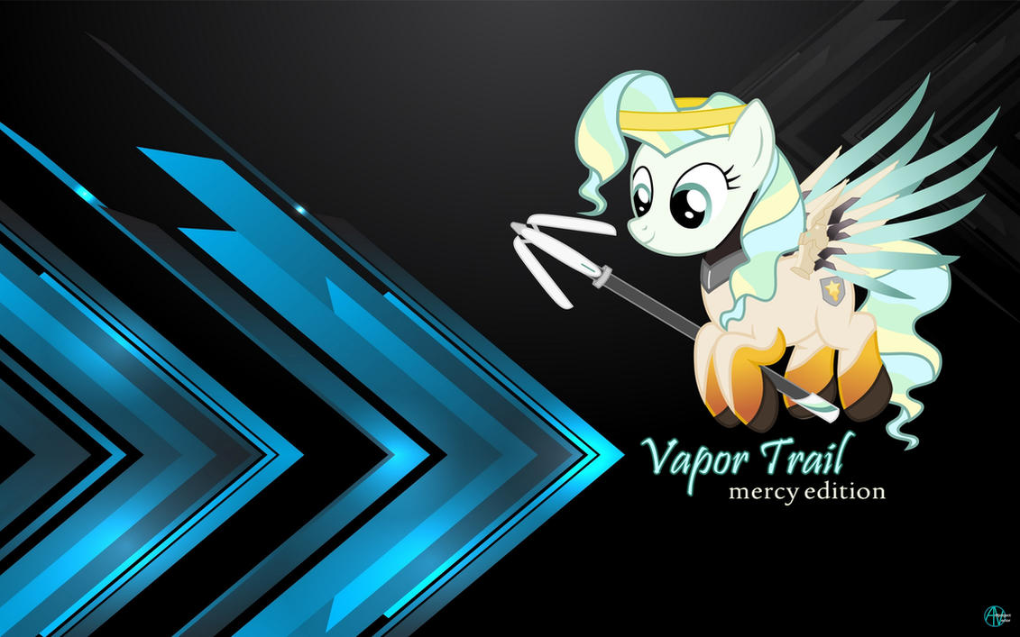 Vapor Trail Mercy wallpaper by arifproject on DeviantArt