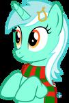 Eager Lyra Heartstrings vector