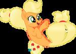 Sea pony Applejack vector