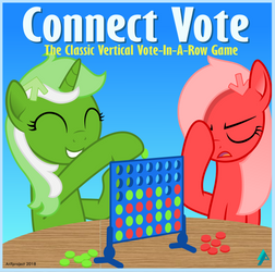 Connect Vote (Connect Four meme) by arifproject