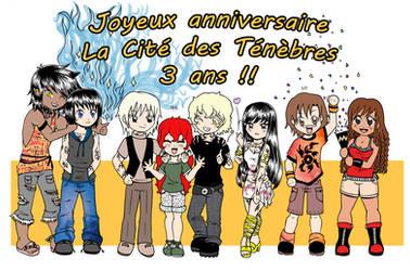 TMI- La cite des tenebres Joyeux anniversaire by Felwyn