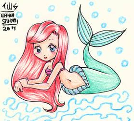 Fanart - Ariel -The Little Mermaid