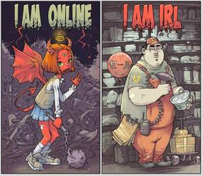 Online vs IRL