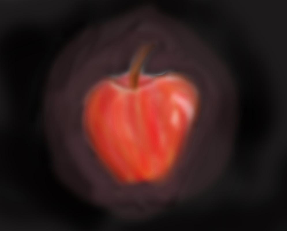 Realistic Apple by kittygirl101202