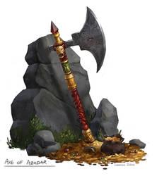 Axe of Abadar by samanthajoanneart