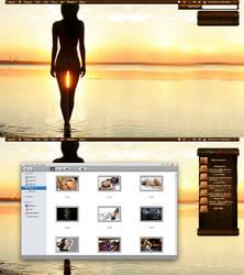 My desktop style 34 by lewamora4ok