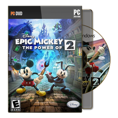 Disney Epic Mickey 2 The Power of Two v2 by lewamora4ok