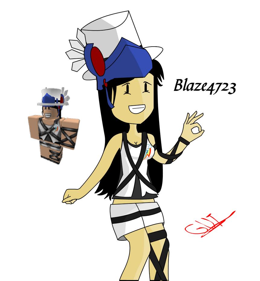 Blaze4723 Drawing 2 (ROBLOX) By GutTC On DeviantArt