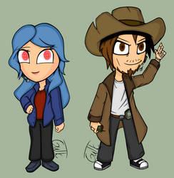 SS13 Characters Chibi