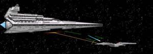 Star Wars vs. Star Trek by mpcp13