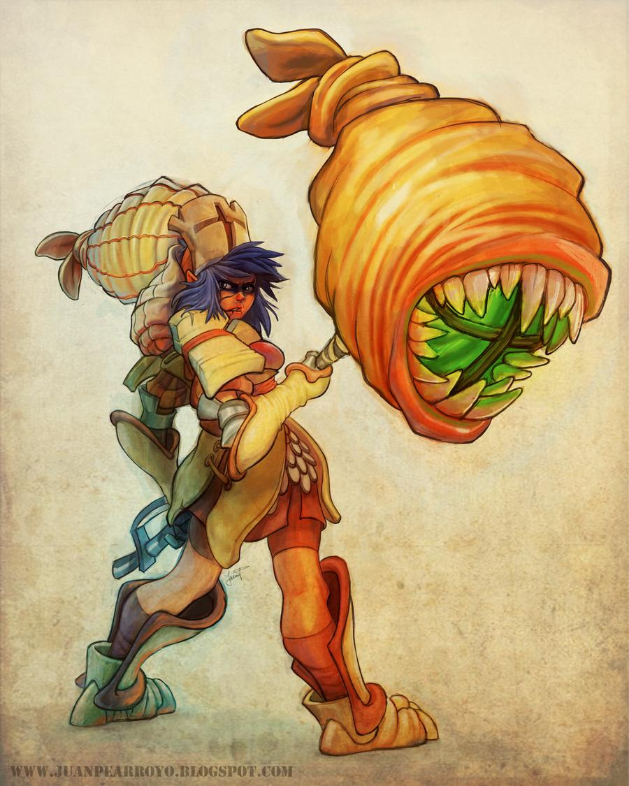 Monster Hunter by Naujack